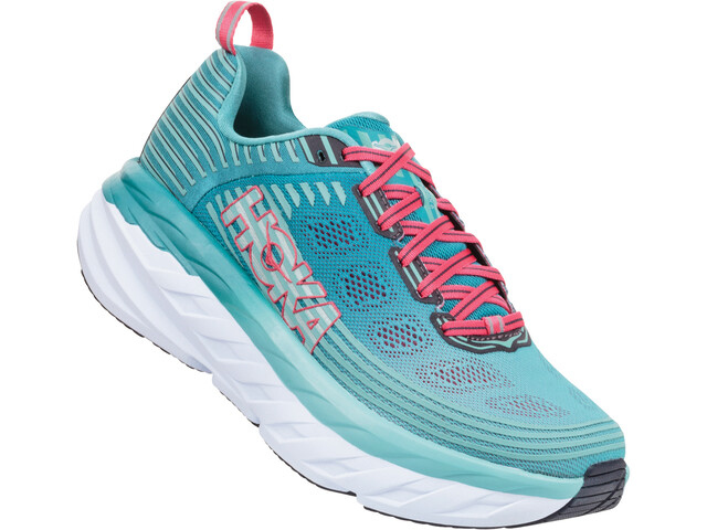 Hoka One One W's Bondi 6 Running Shoes canton/green-blue slate